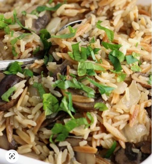 mushroom-rice-pilaf
