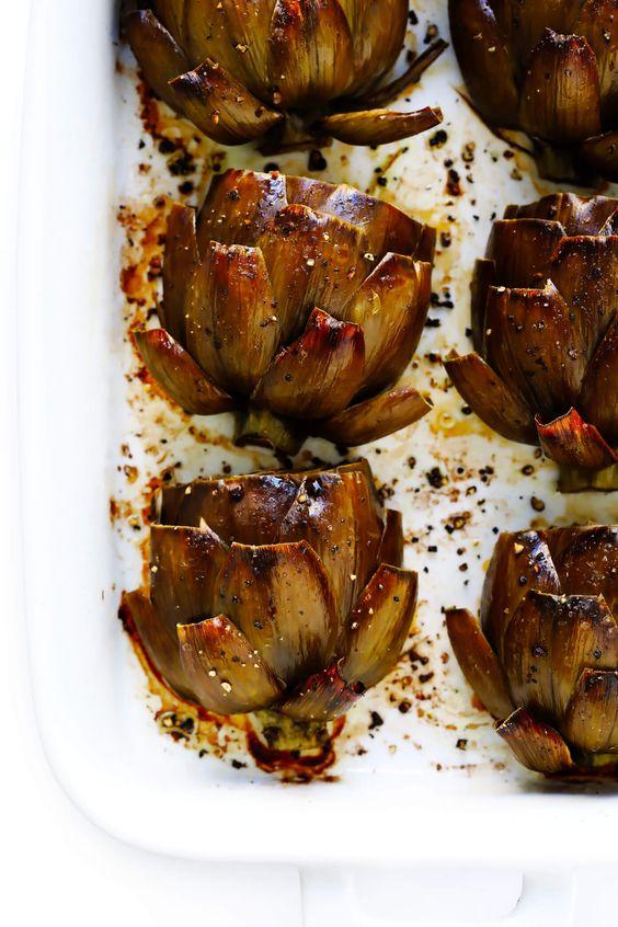 roasted-artichokes