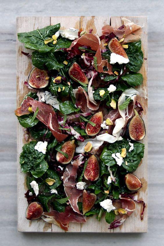 arugula-radicchio-salad-with-prosciutto-fig-pistachios