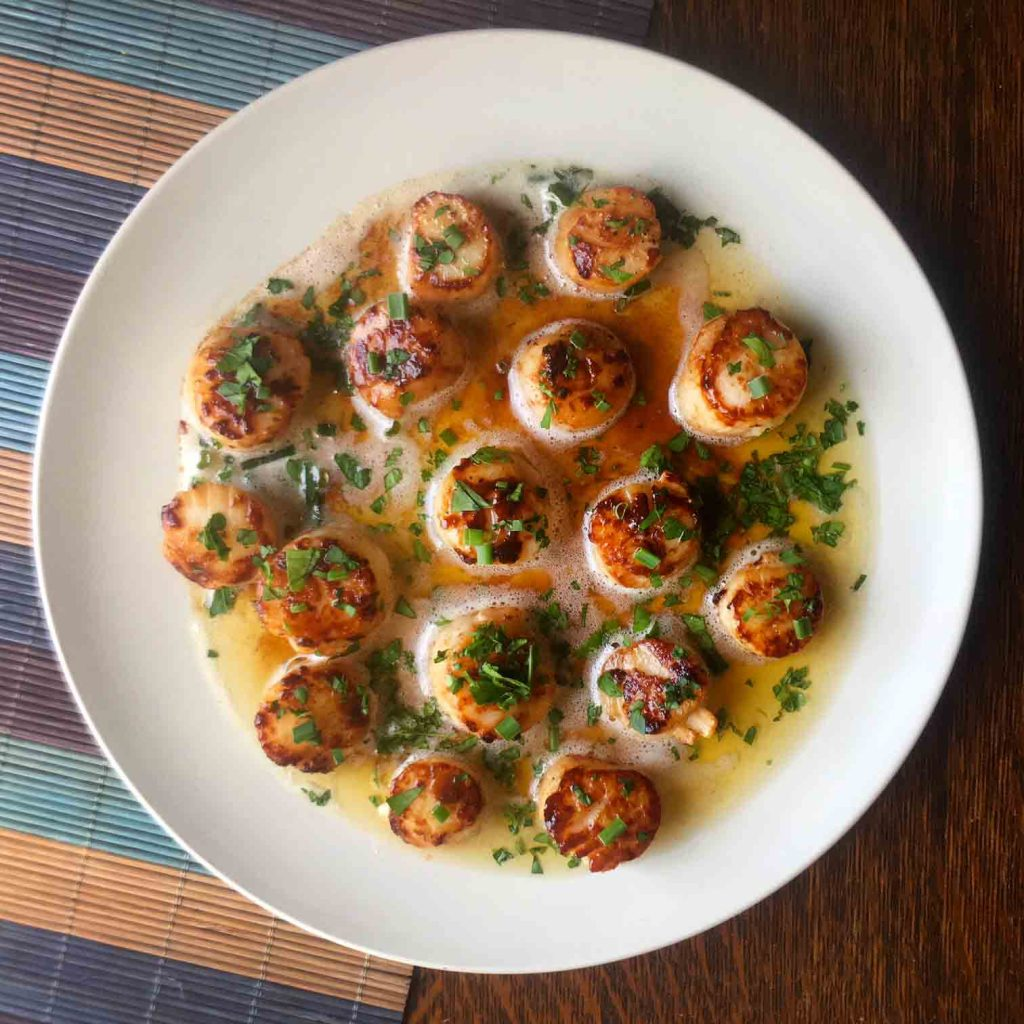 pan-seared-scallop-with-butter-sauce